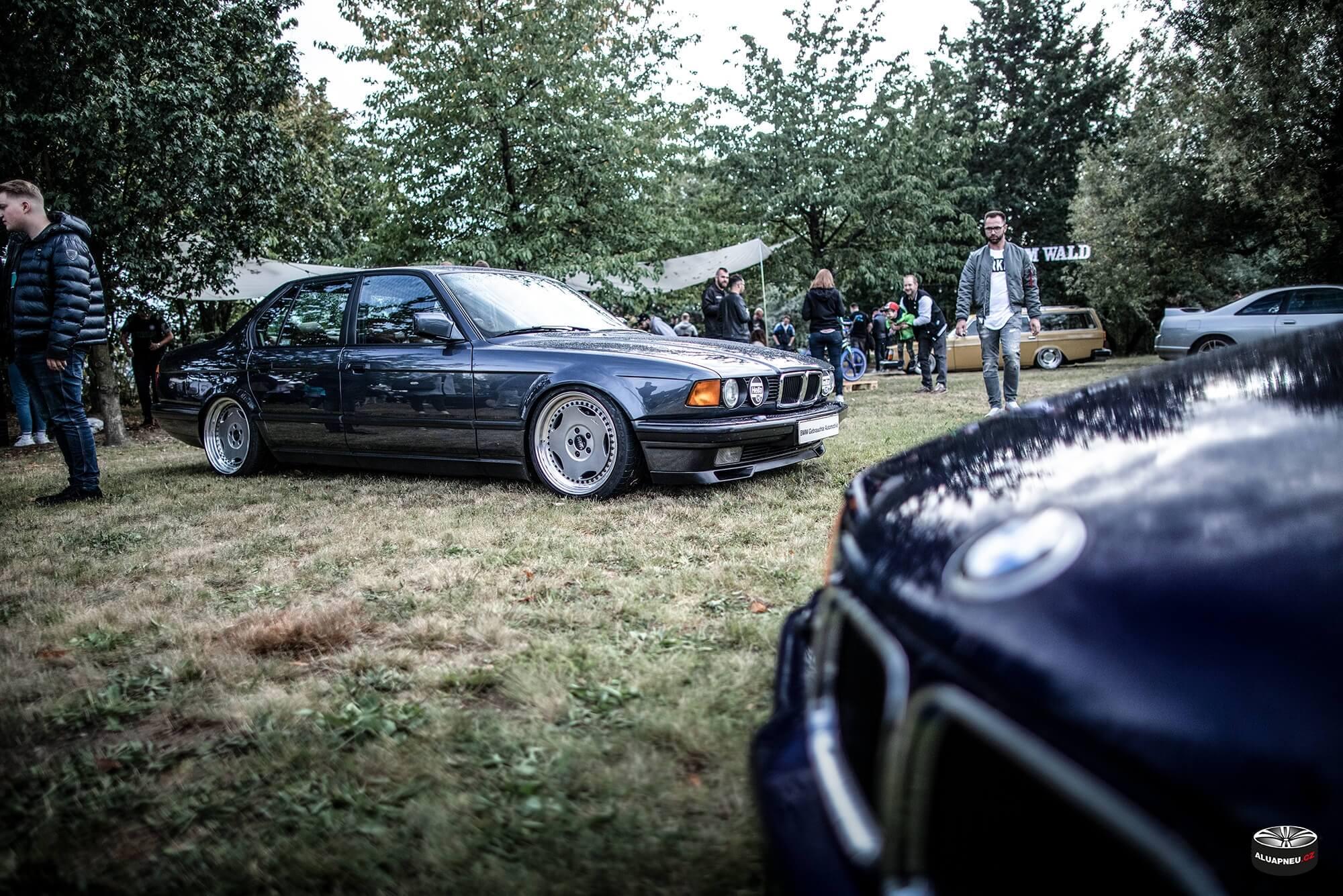 Alu kola s límcem Bmw series 5 e39 - XS Classic Carnight 5.0 - Drážďany tuning sraz 2019 - www.aluapneu.cz