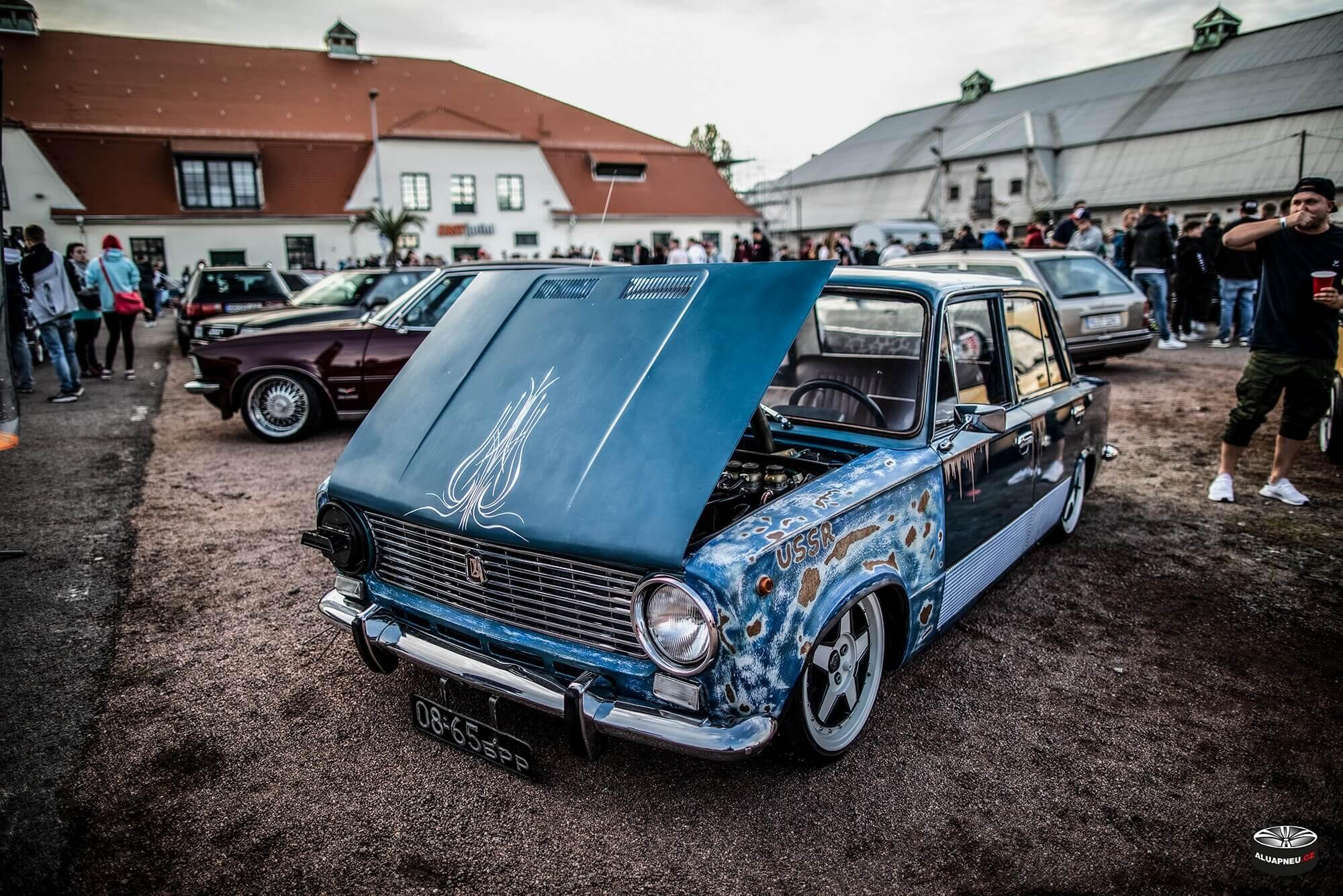 Alu kola Lada - XS Classic Carnight 5.0 - Drážďany tuning sraz 2019 - www.aluapneu.cz
