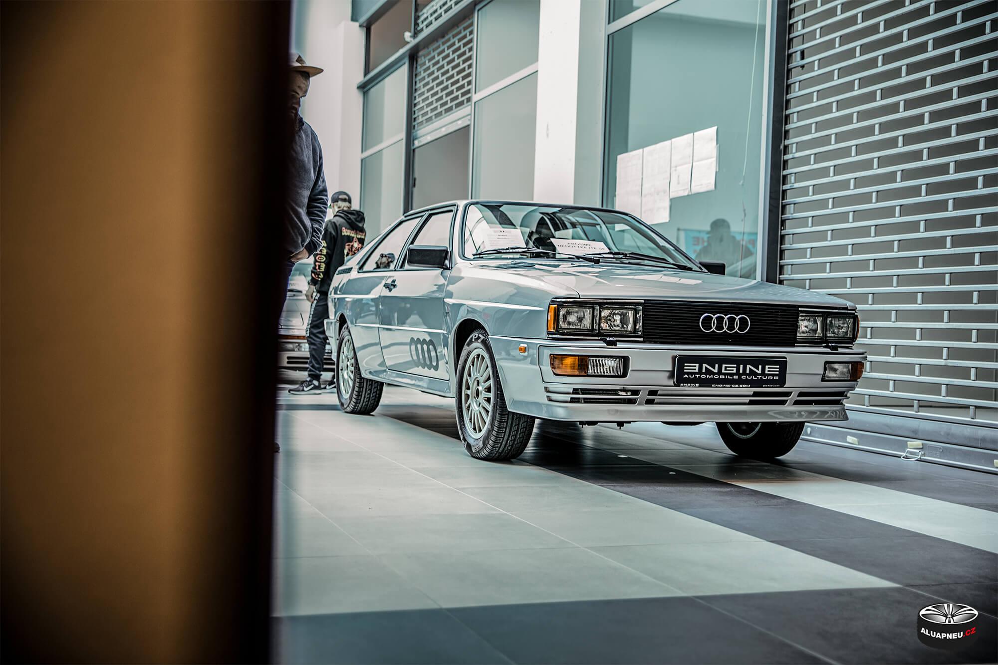 Audi Coupe - original alu kola - Youngtimer - www.aluapneu.cz