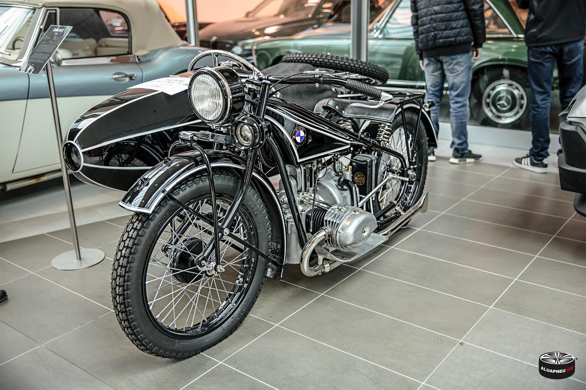 Bmw motocykl - Youngtimer - www.aluapneu.cz