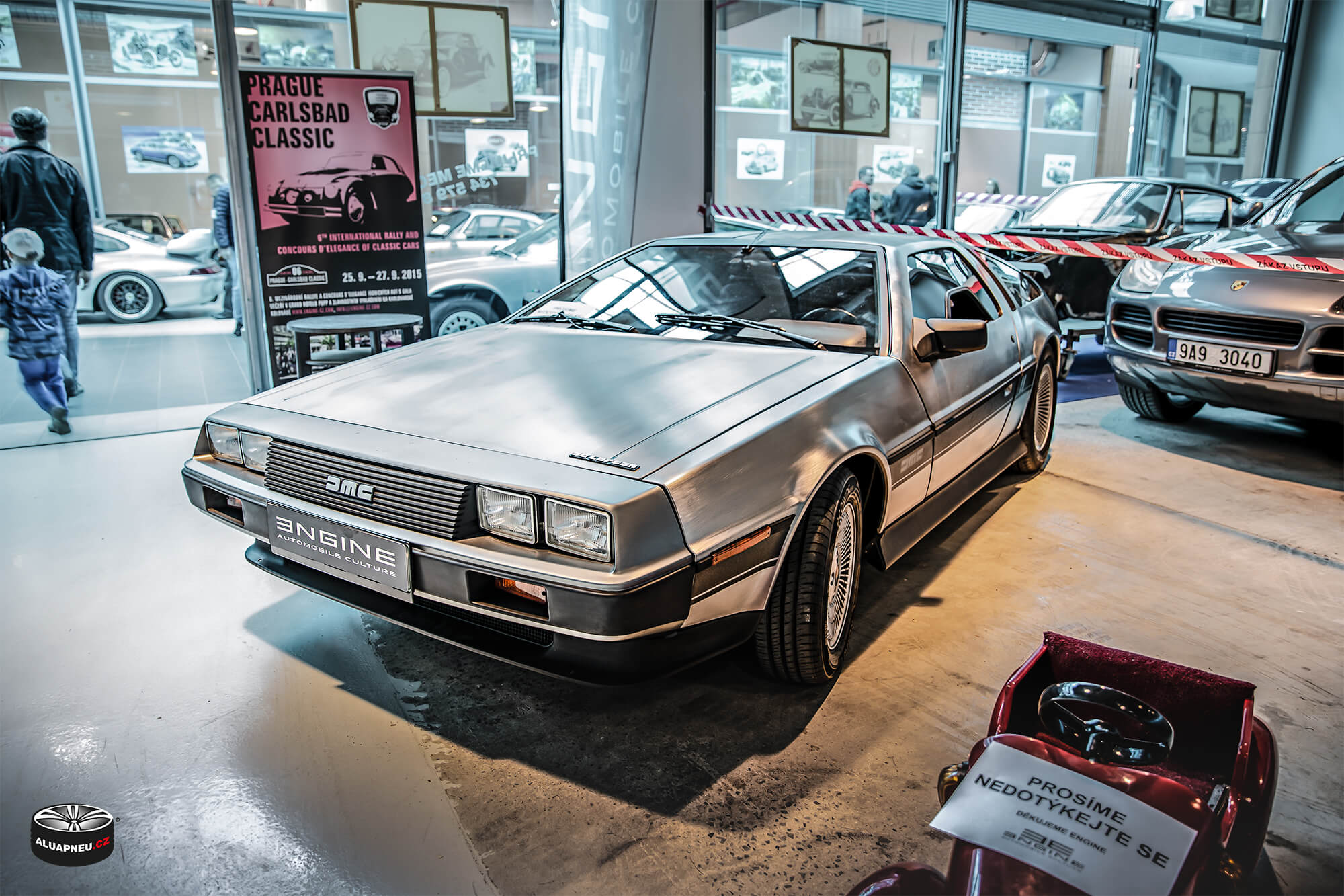 DeLorean DMC-12 - Youngtimer - www.aluapneu.cz