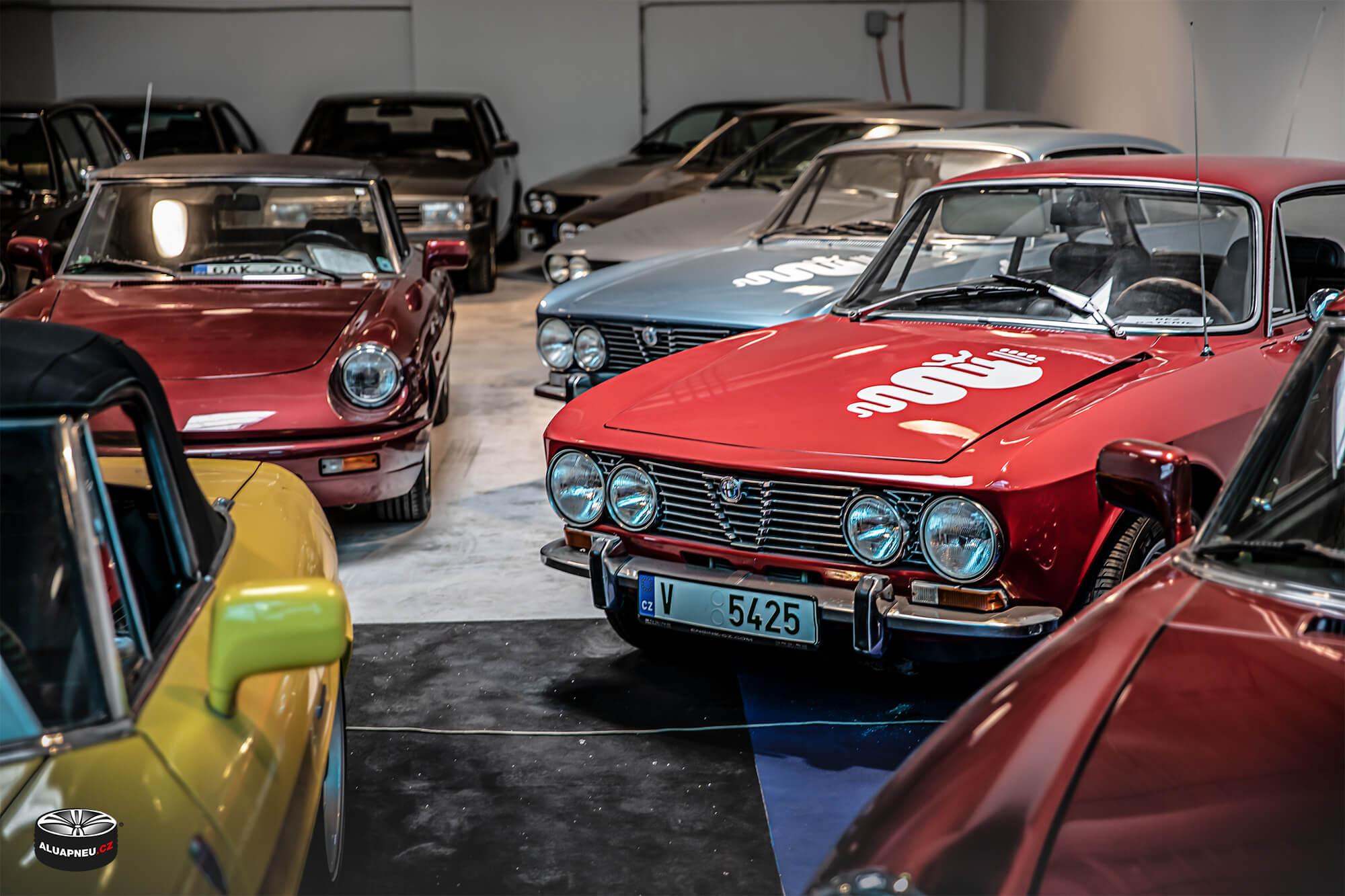 Alfa Romeo - Youngtimer - www.aluapneu.cz