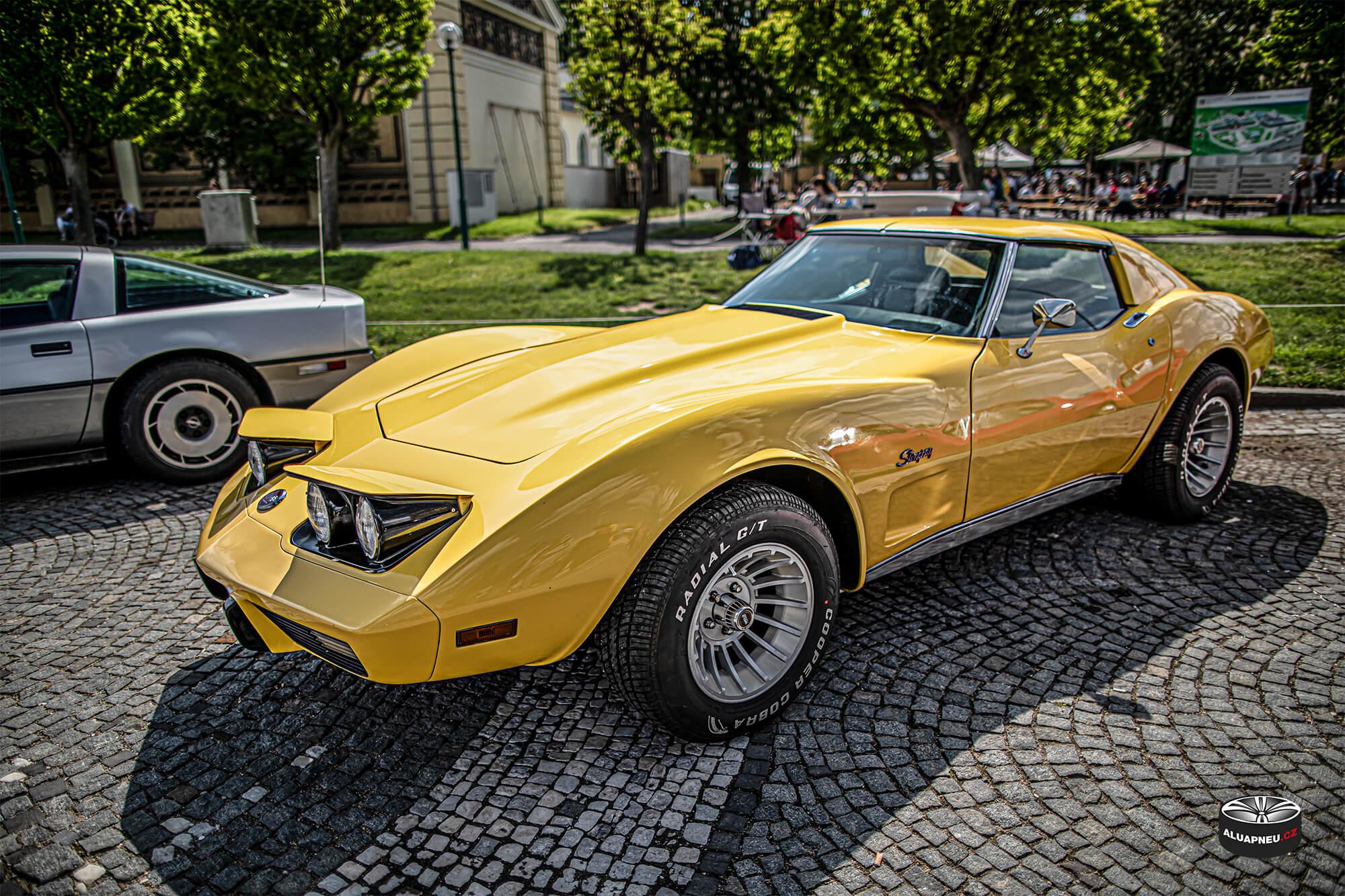 Originální límcová alu kola Chevrolet Corvette - Youngtimer - www.aluapneu.cz