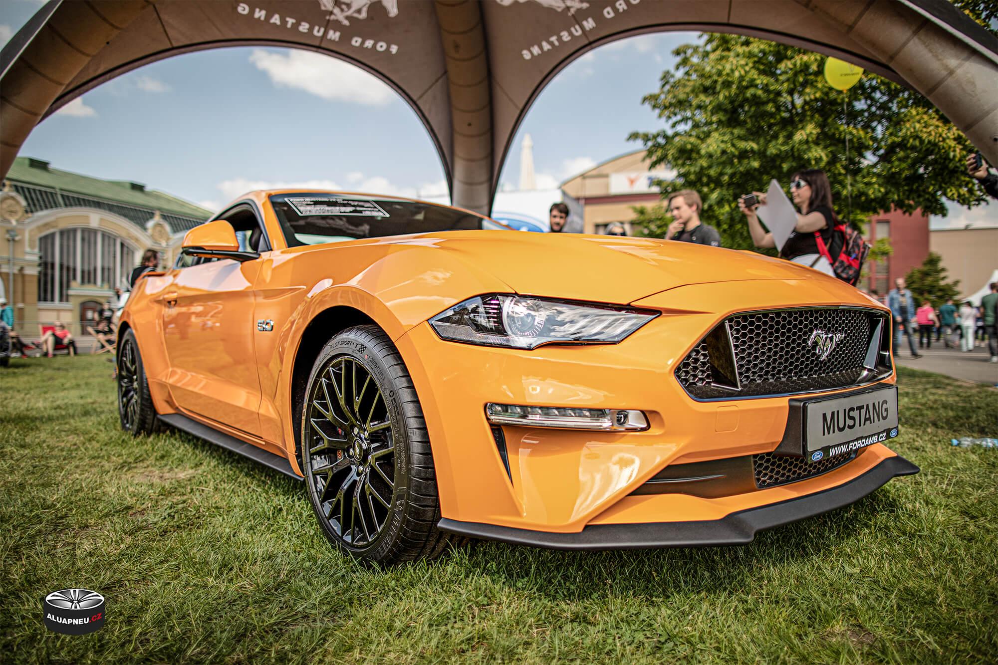 """Originální alu kola 19"""" Ford Mustang - Automobilové Legendy 2019 - www.aluapneu.cz"""