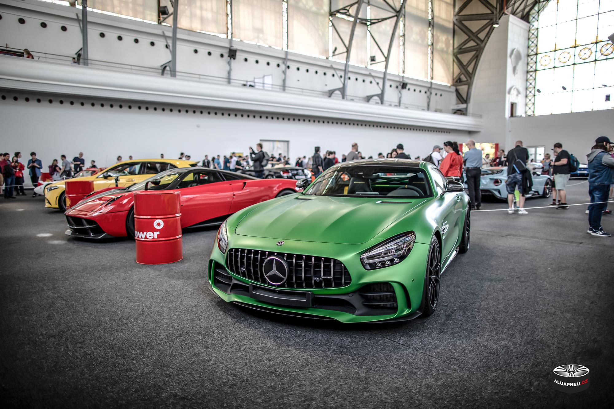 Mercedes Amg Gtr - Automobilové Legendy 2019 - www.aluapneu.cz