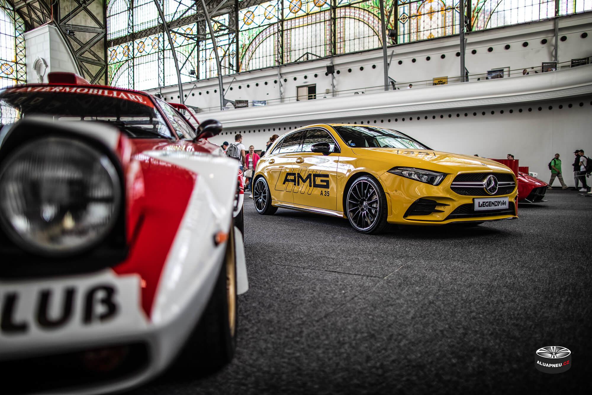 Černé elektrony AMG Mercedes - Automobilové Legendy 2019 - www.aluapneu.cz