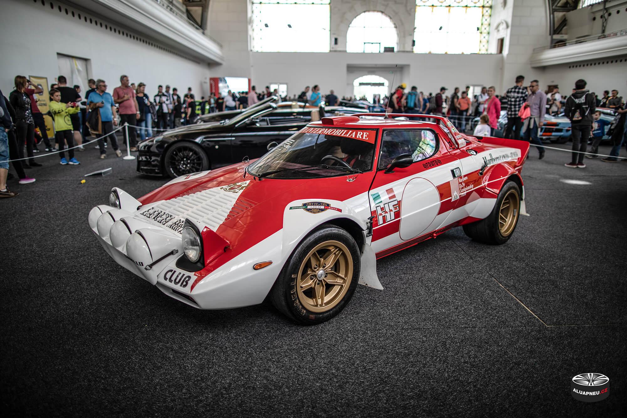 Lancia Stratos Rallye - Youngtimer - www.aluapneu.cz