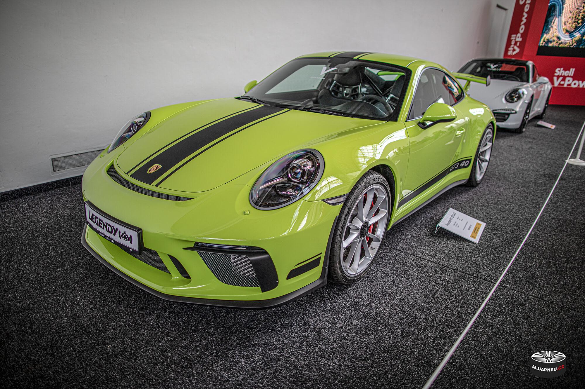 Originální elektrony Porsche - Automobilové Legendy 2019 - www.aluapneu.cz