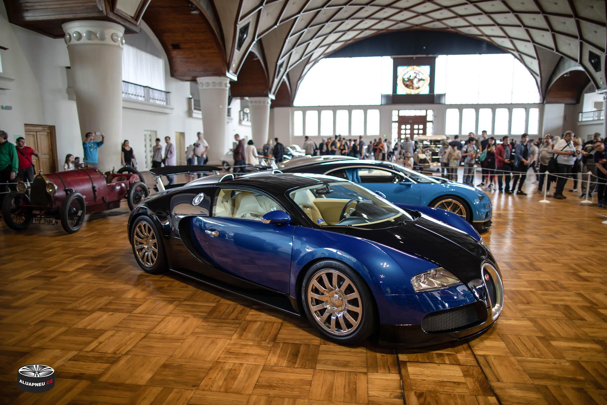 Bugatti Veyron - Automobilové Legendy 2019 - www.aluapneu.cz
