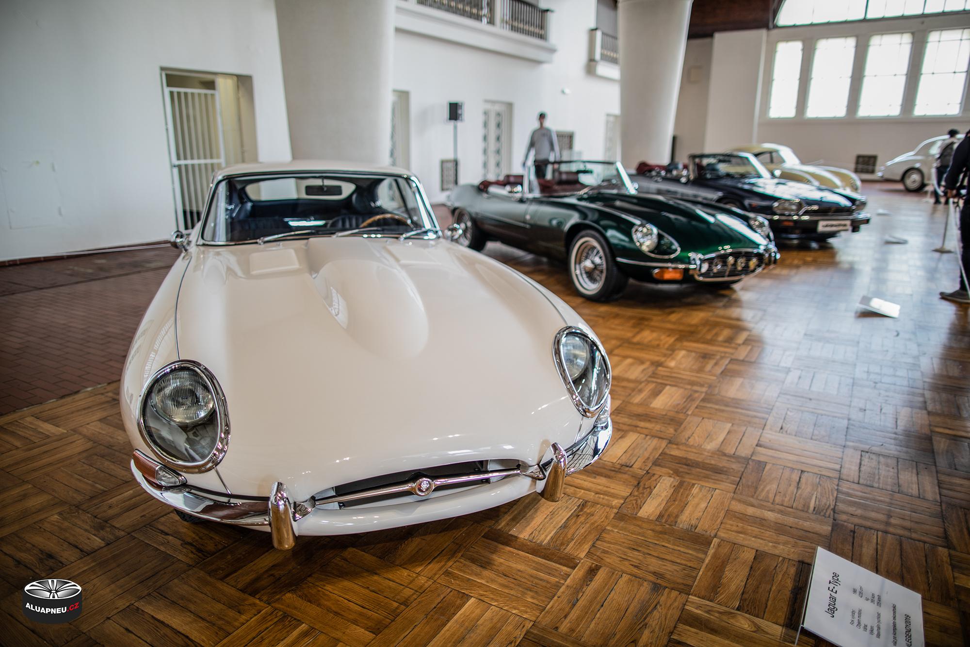 Jaguar Typ E - Youngtimer - www.aluapneu.cz