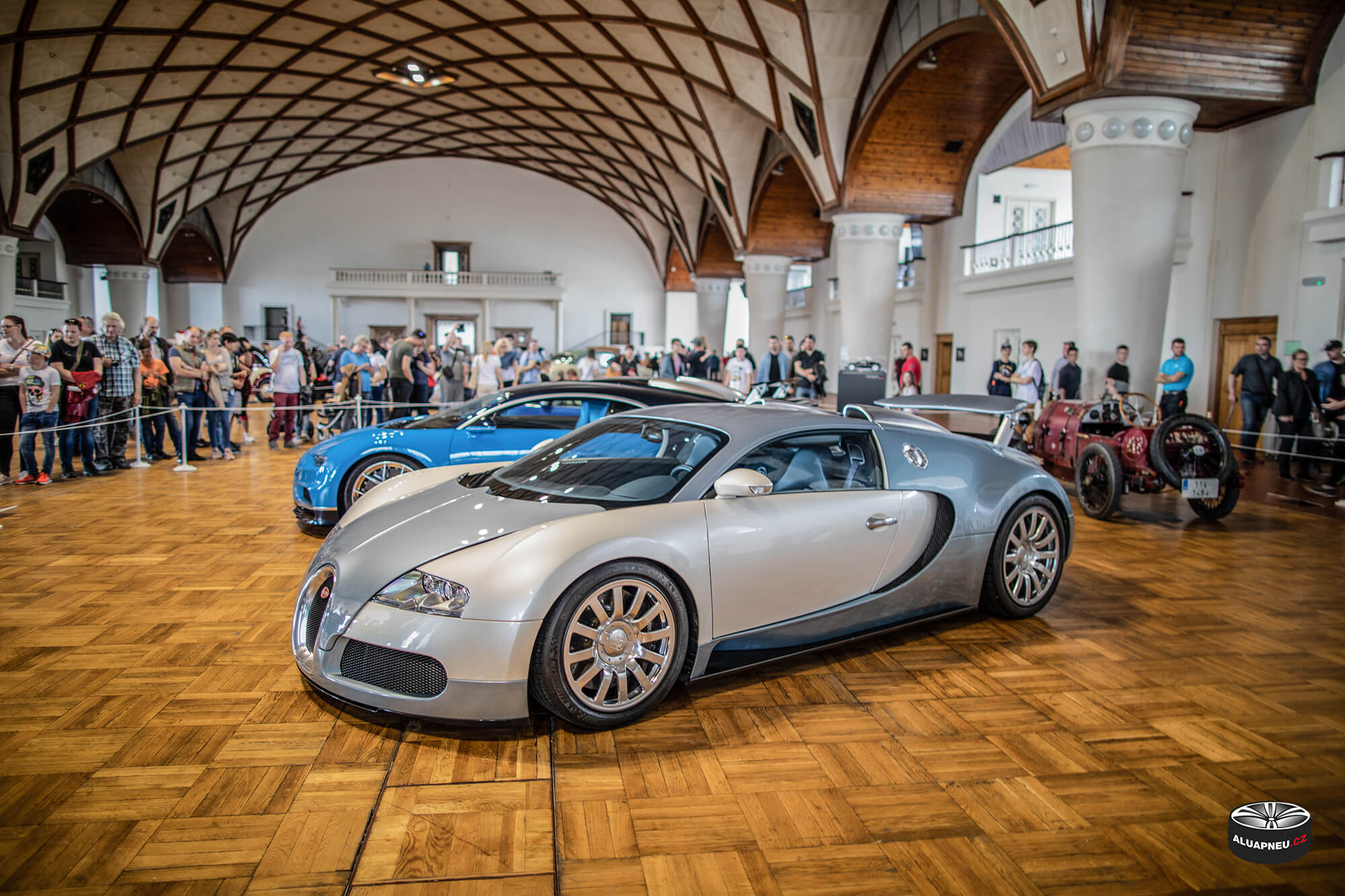 Alu kola Bugatti Veyron - Legendy 2019 - www.aluapneu.cz