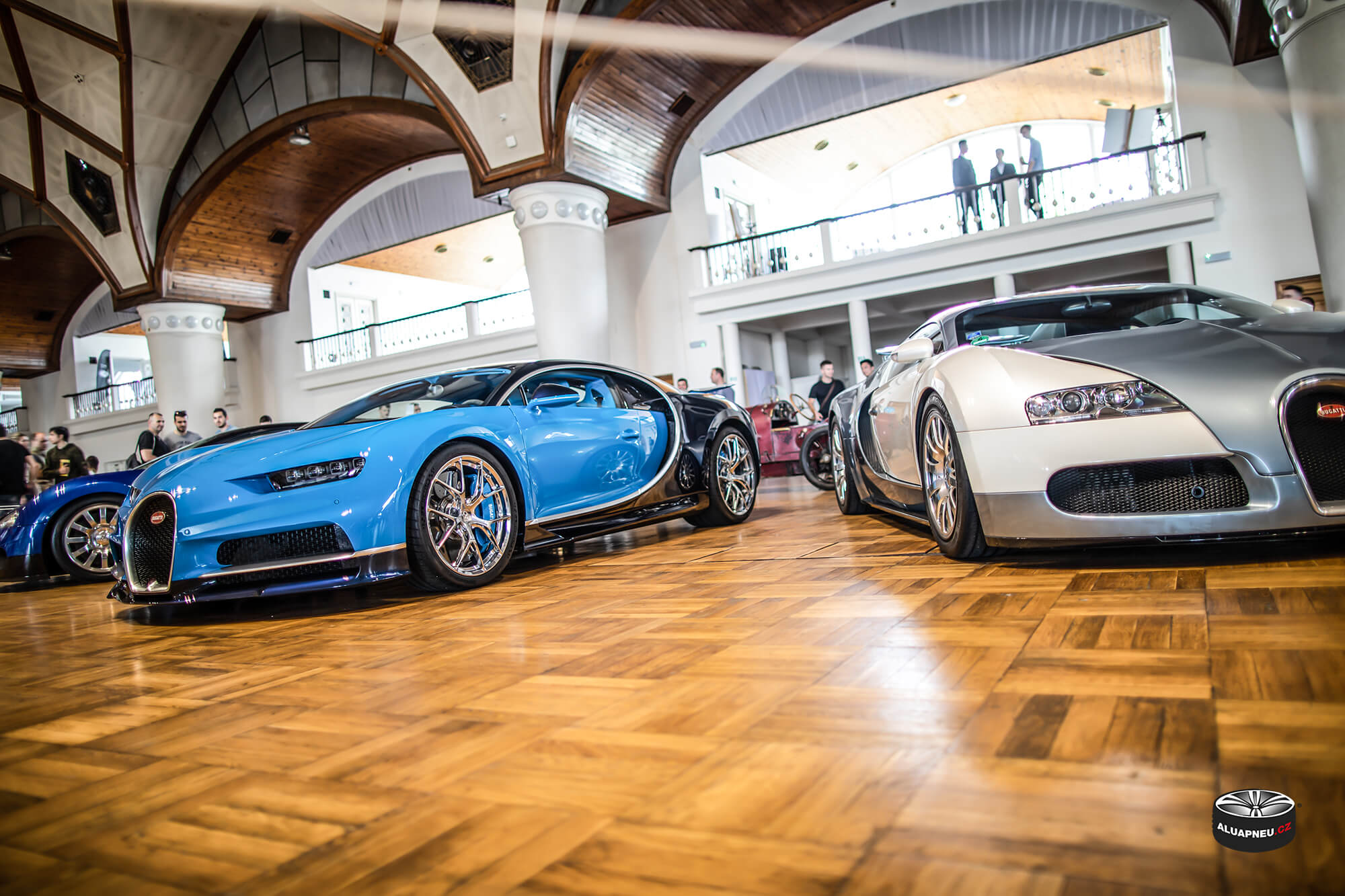 Alu kola Bugatti Chiron - Automobilové Legendy 2019 - www.aluapneu.cz