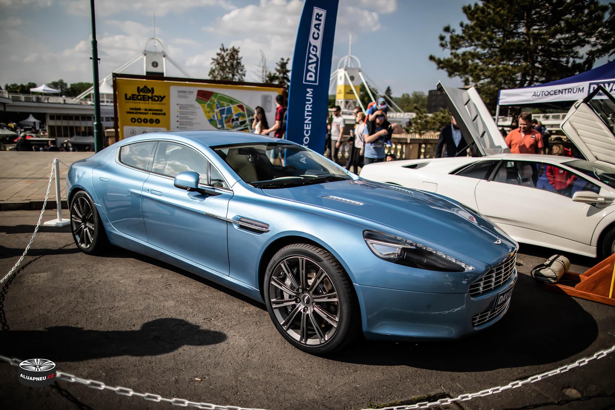 Alu kola Aston Martin - Automobilové Legendy 2019 - www.aluapneu.cz