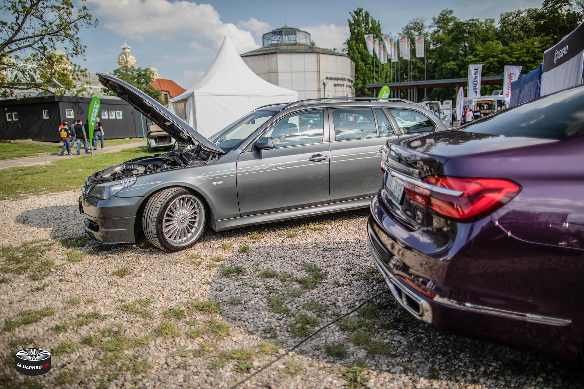 Alu kola Alpina Bmw 5 e61 - Automobilové Legendy 2019 - www.aluapneu.cz