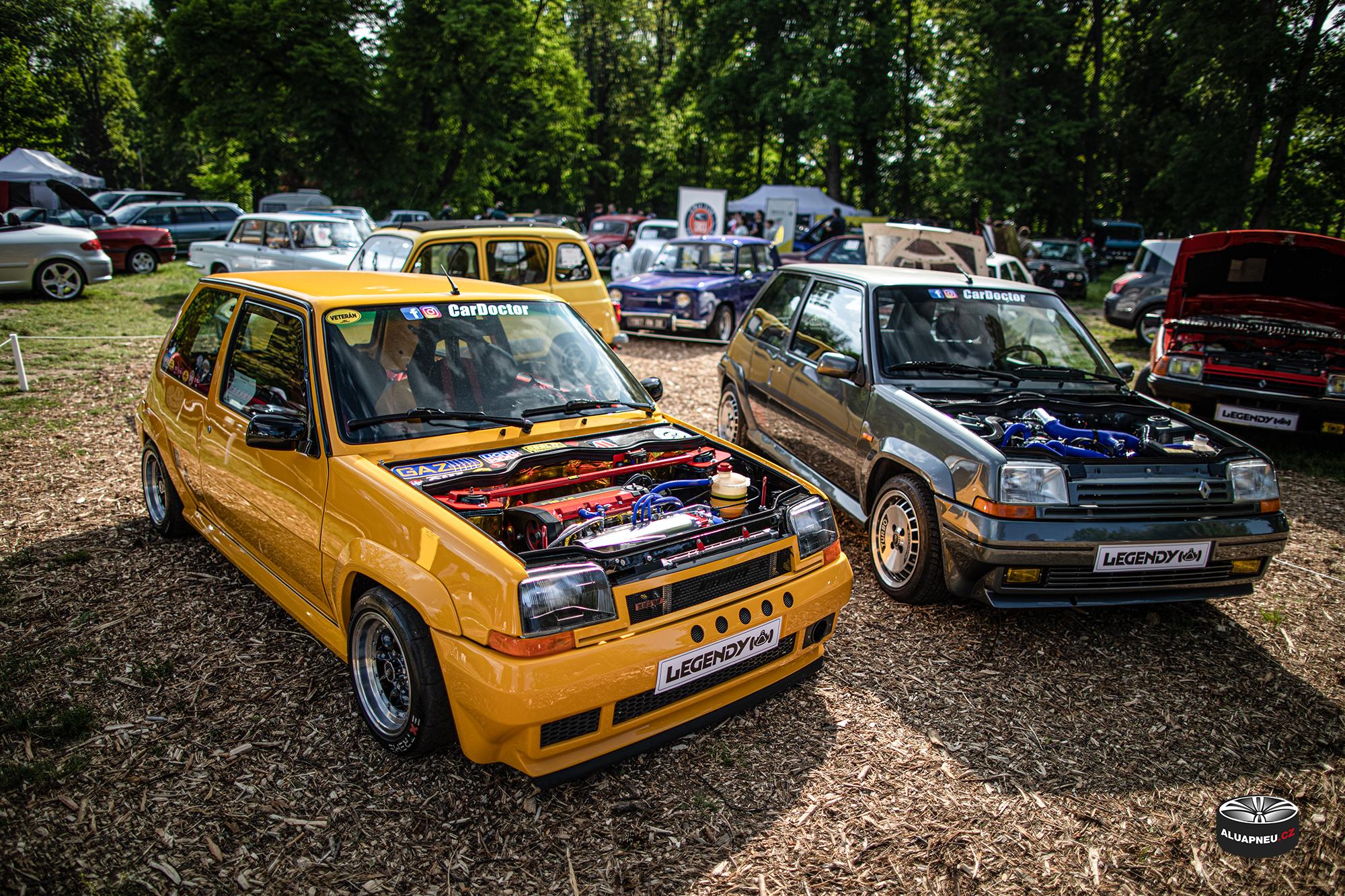 Límcová alu kola Renault 5 turbo - Youngtimer - www.aluapneu.cz
