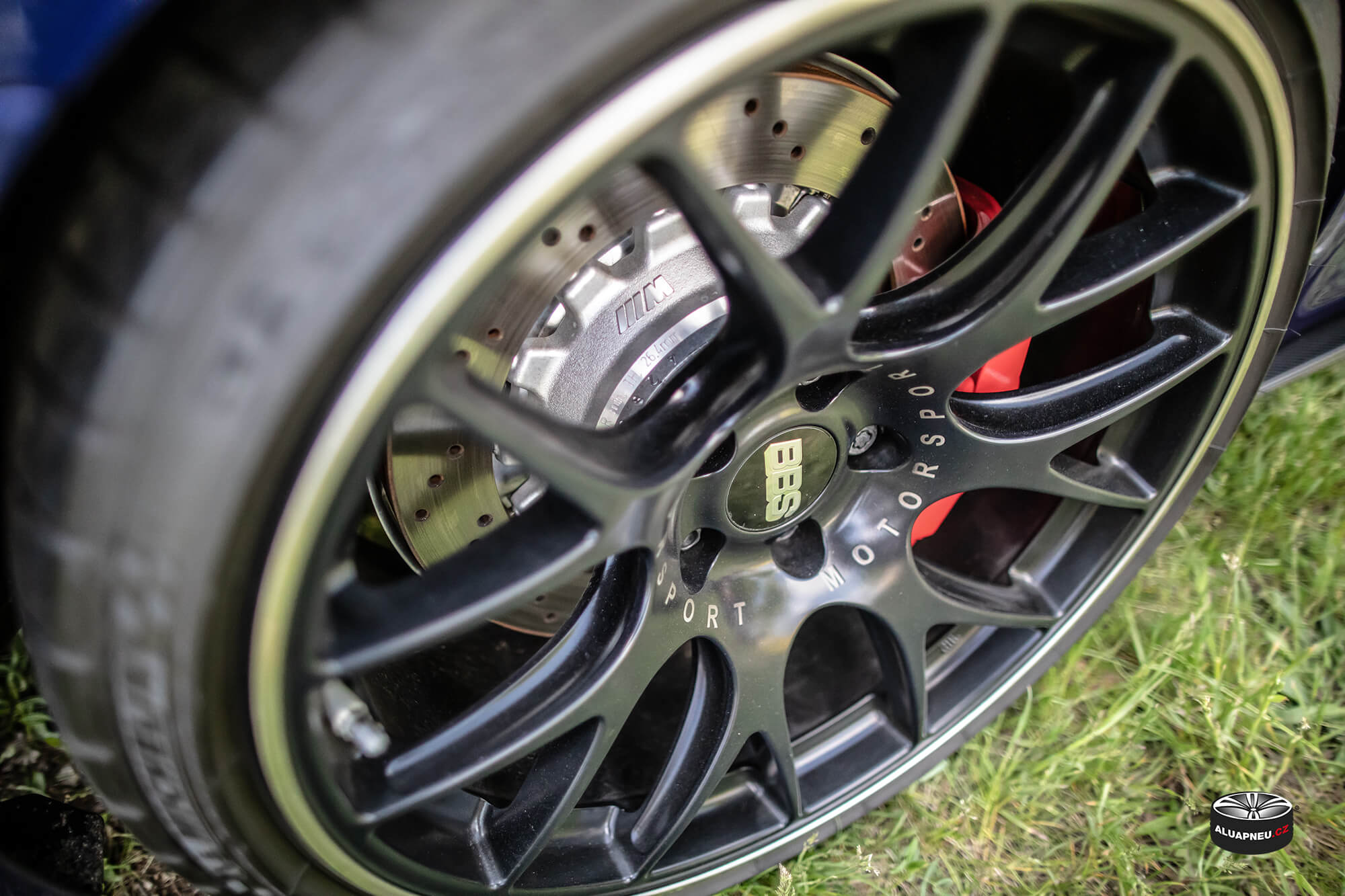 Černá alu kola BBS Motorsport - Automobilové Legendy 2019 - www.aluapneu.cz