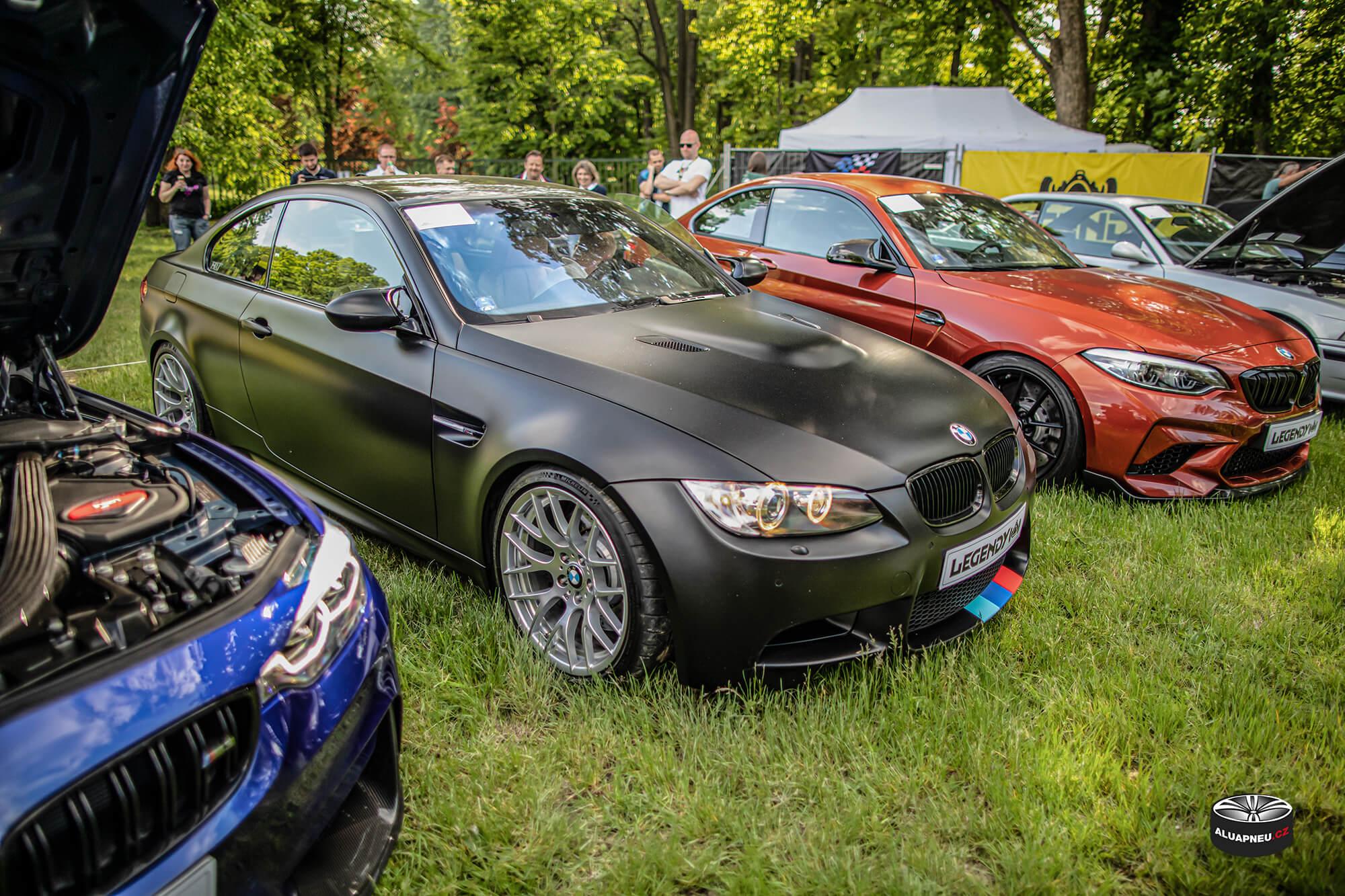 Original alukola Bmw Motorsport - Bmw M3 e90 - Automobilové Legendy 2019 - www.aluapneu.cz