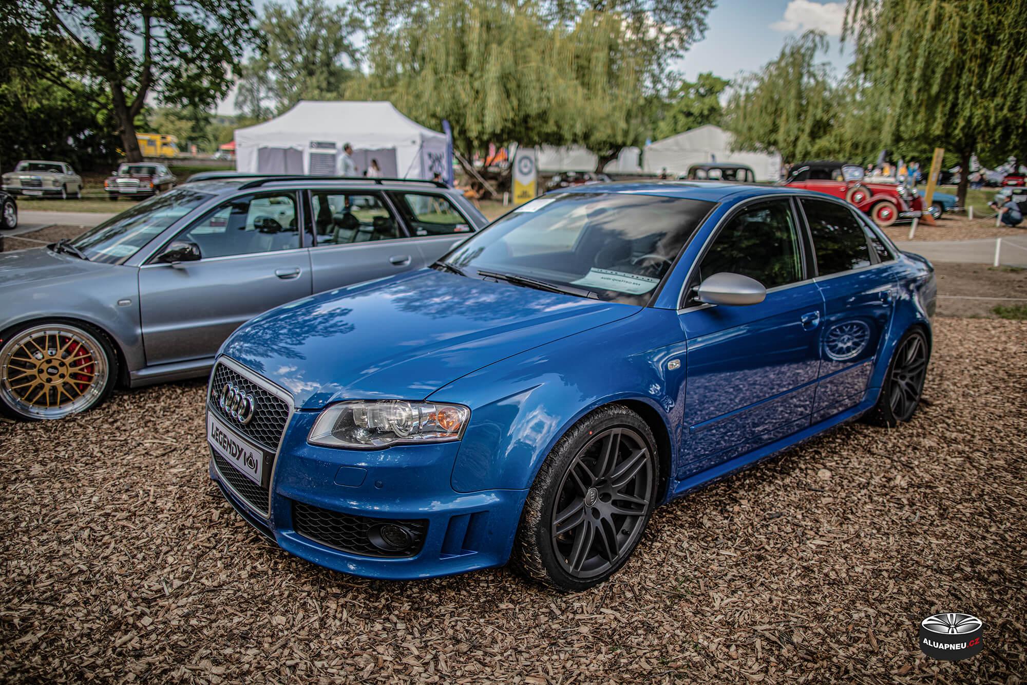 Originální šedá alu kola Audi Rs4 - Automobilové Legendy 2019 - www.aluapneu.cz