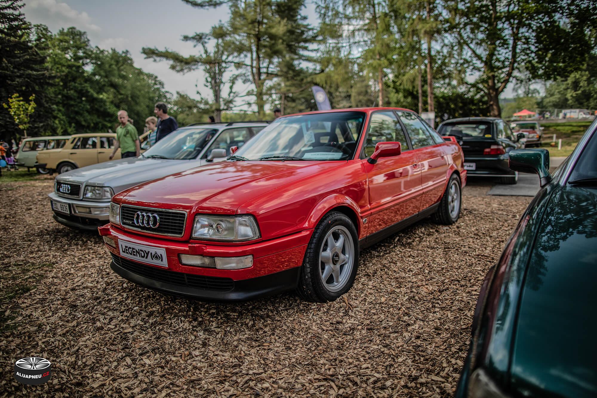 Audi 80 Coupe - stříbrné elektrony - Youngtimer - www.aluapneu.cz