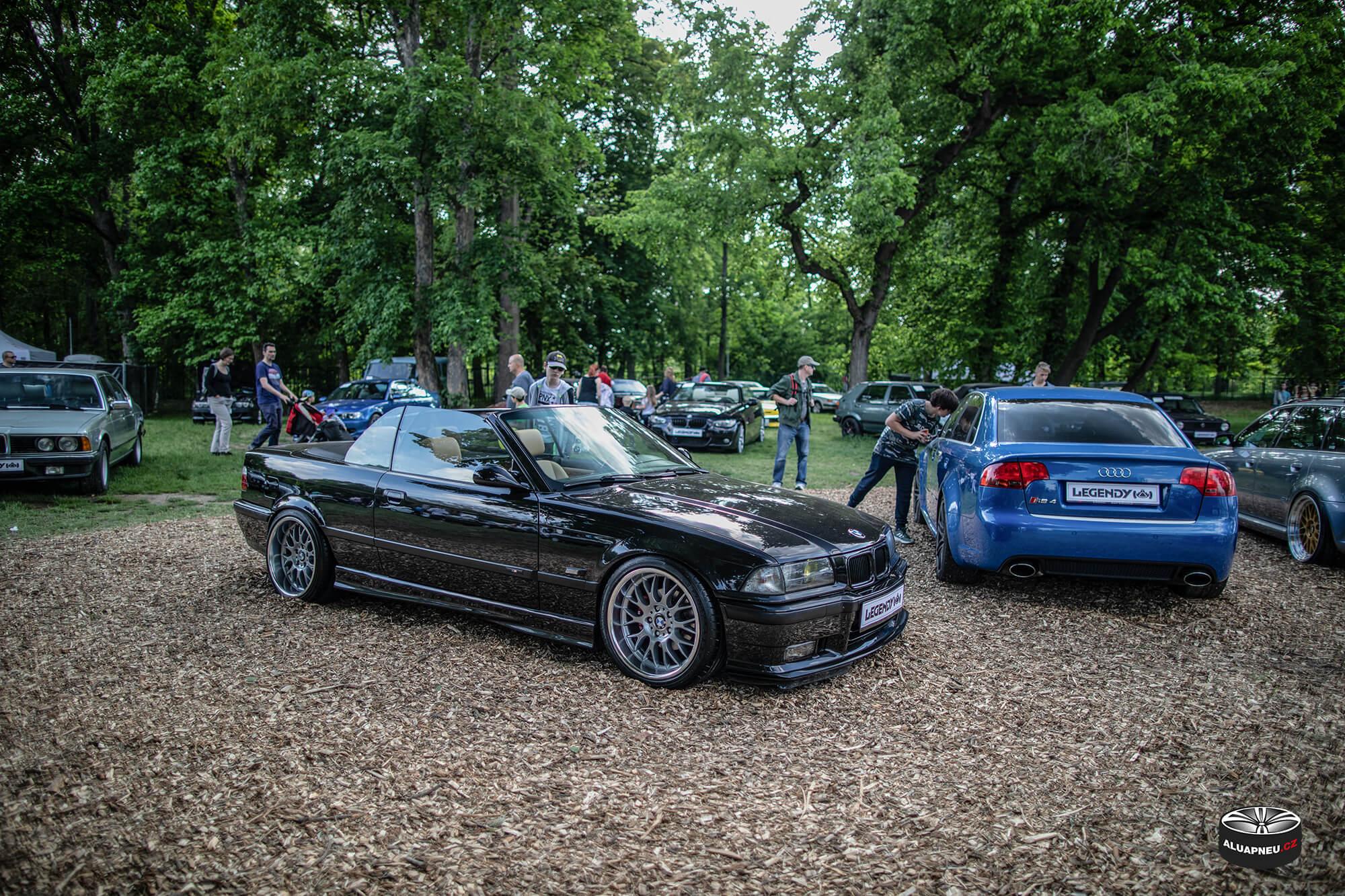 Límcová litá kola Bmw E36 M3 - Automobilové Legendy 2019 - www.aluapneu.cz