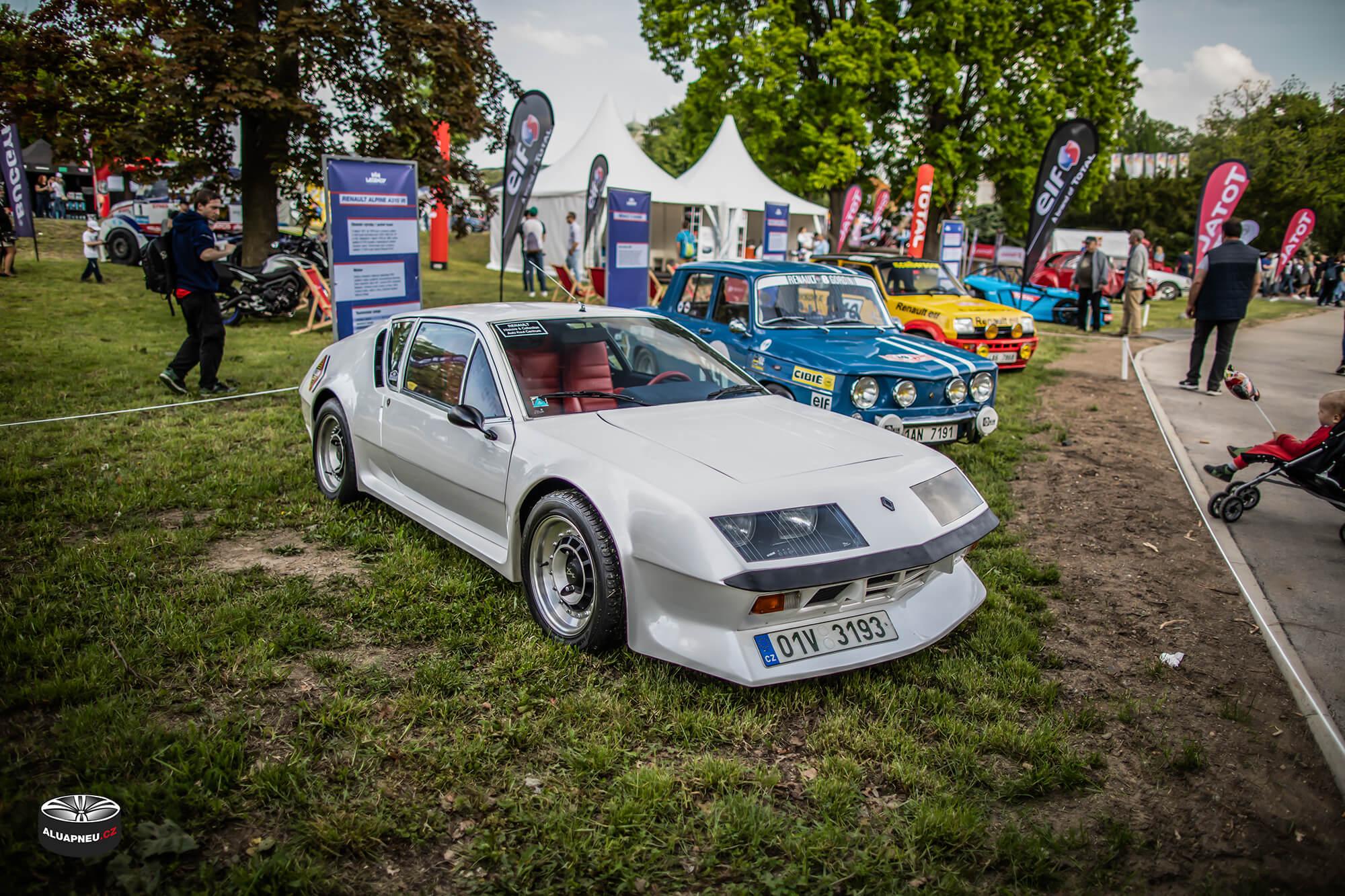 Alpine - originální alu kola - Youngtimer - www.aluapneu.cz