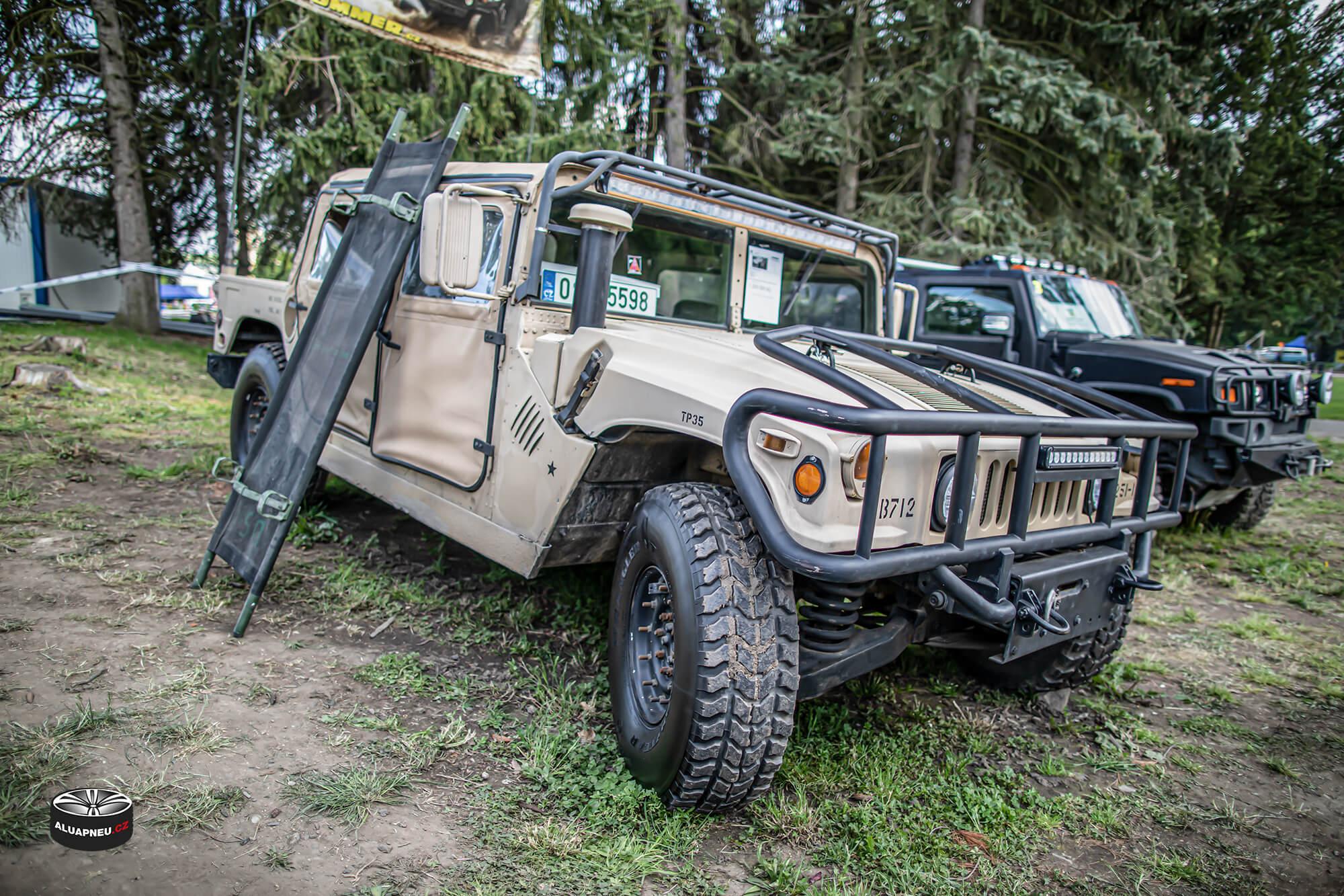 Hummer H1 - Automobilové Legendy 2019 - www.aluapneu.cz