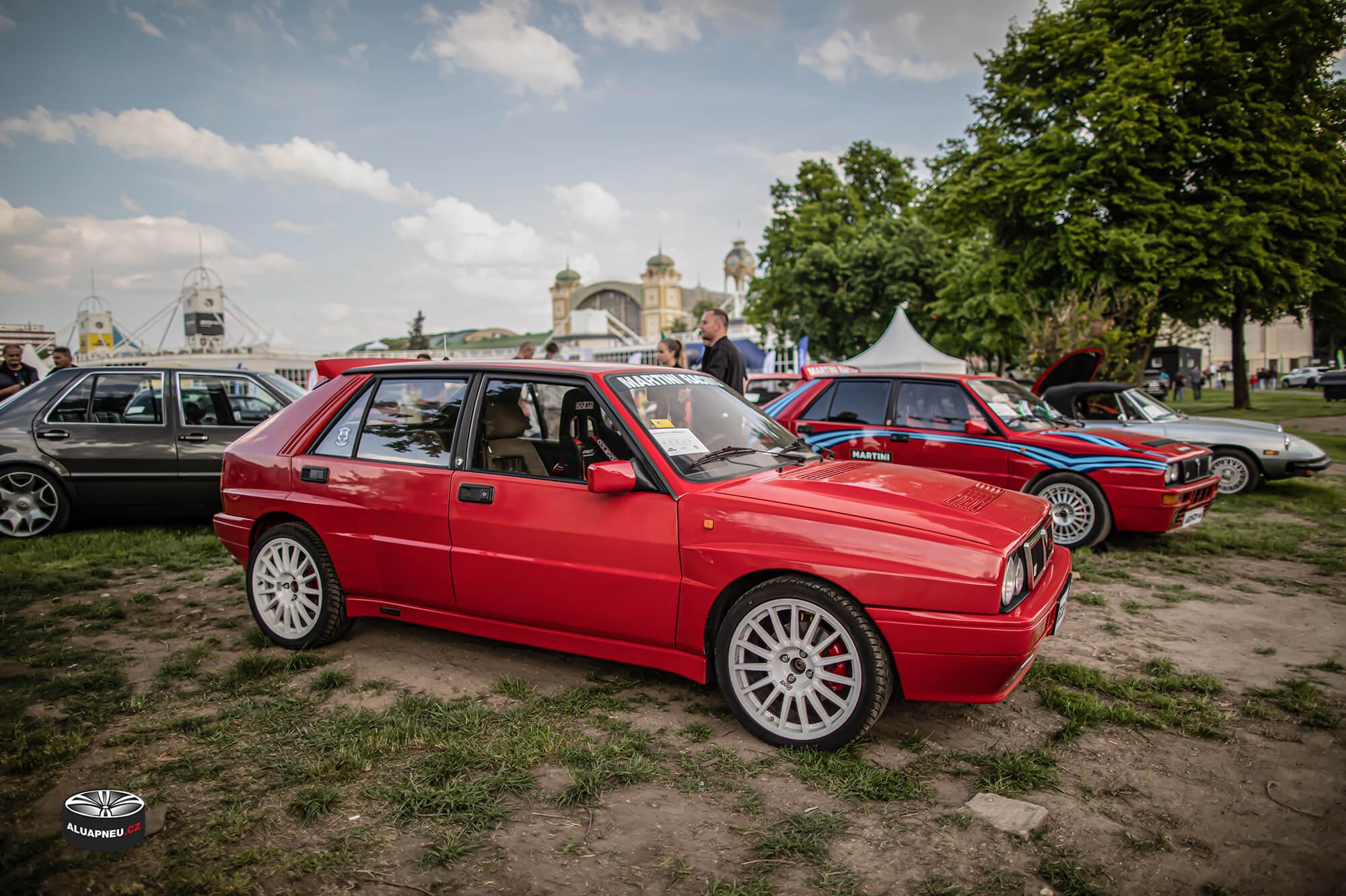 Alu kola Lancia Delta Hf Integrale Evo - Youngtimer - www.aluapneu.cz