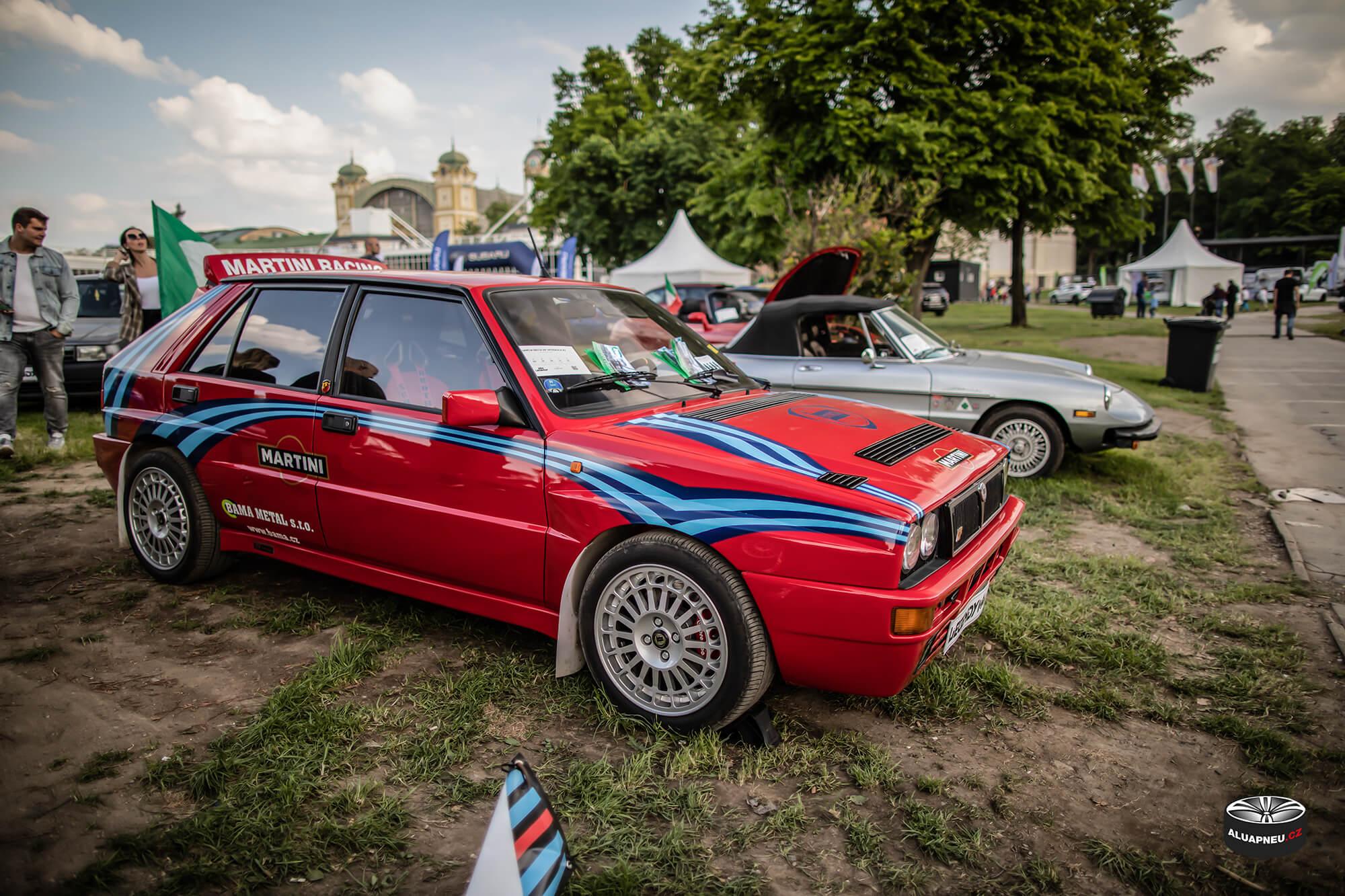 Originální alu kola Lancia Delta Integrale - Youngtimer - www.aluapneu.cz