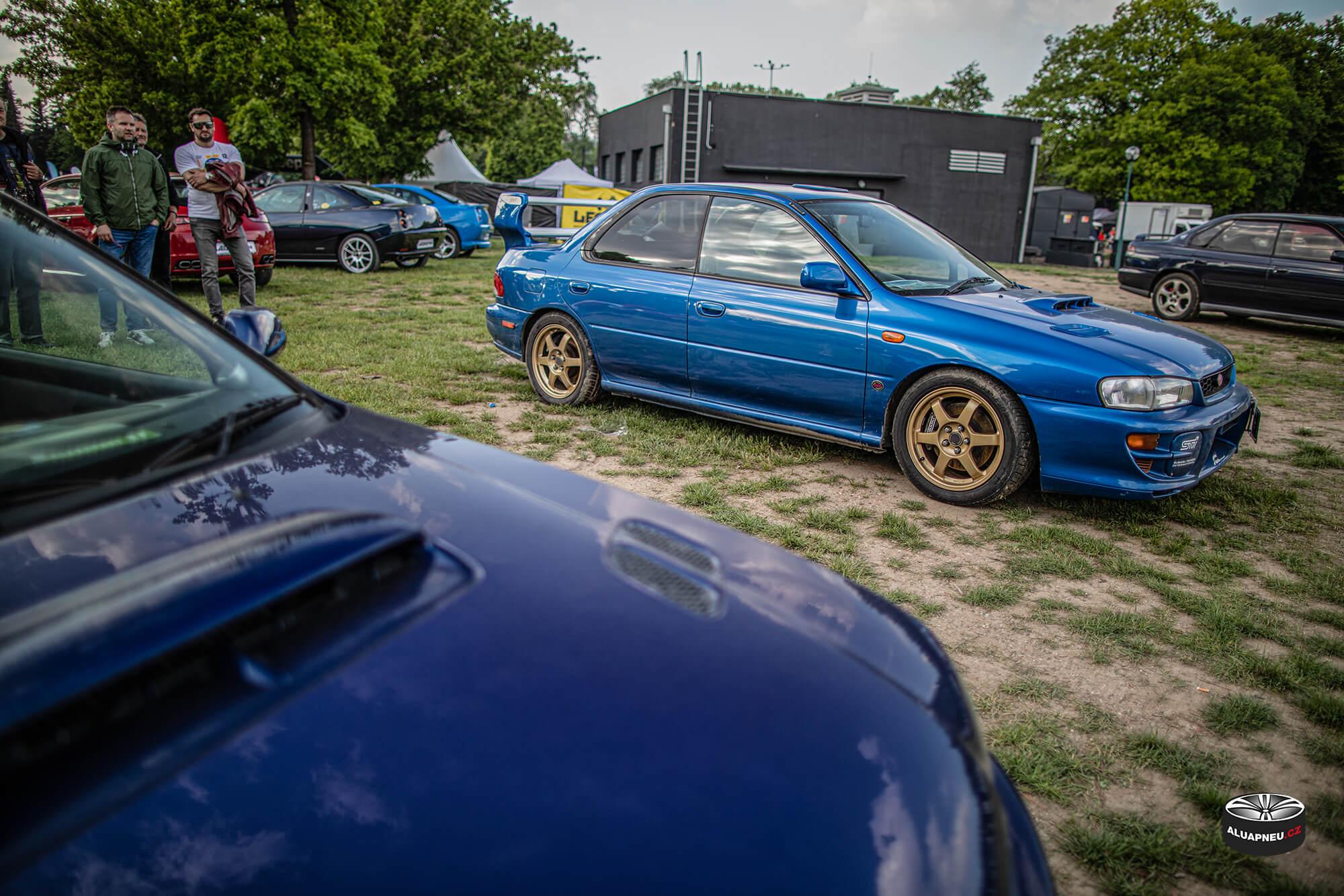 Zlatá alu kola Subaru Impreza STI - Automobilové Legendy 2019 - www.aluapneu.cz