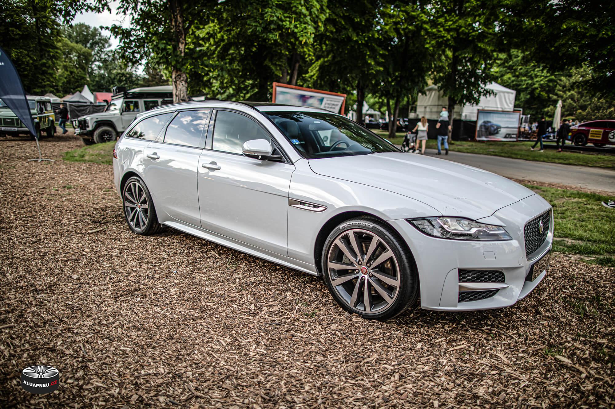 Originální alu kola Jaguar - Automobilové Legendy 2019 - www.aluapneu.cz