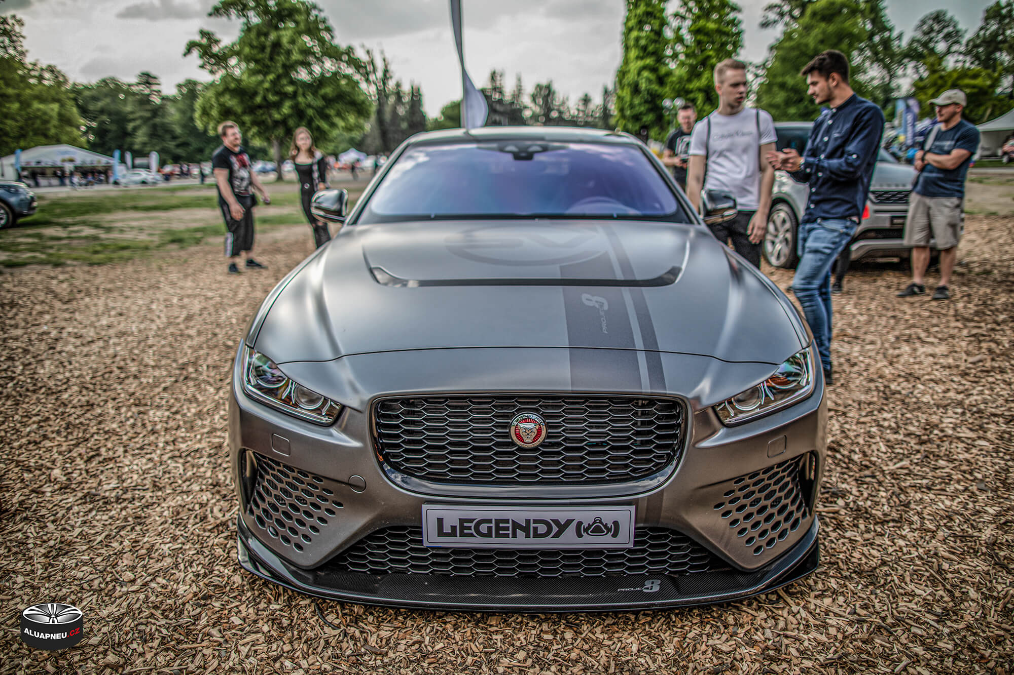 Jaguar sport - Automobilové Legendy 2019 - www.aluapneu.cz
