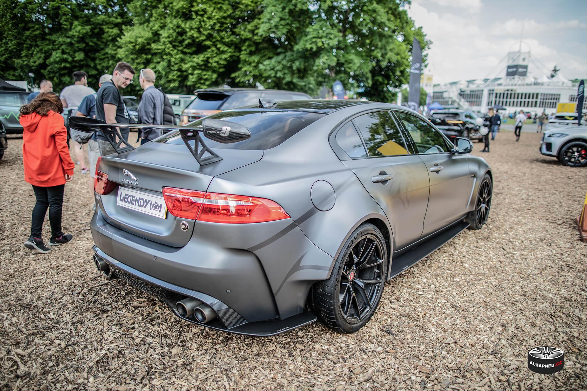 Jaguar wing - Automobilové Legendy 2019 - www.aluapneu.cz