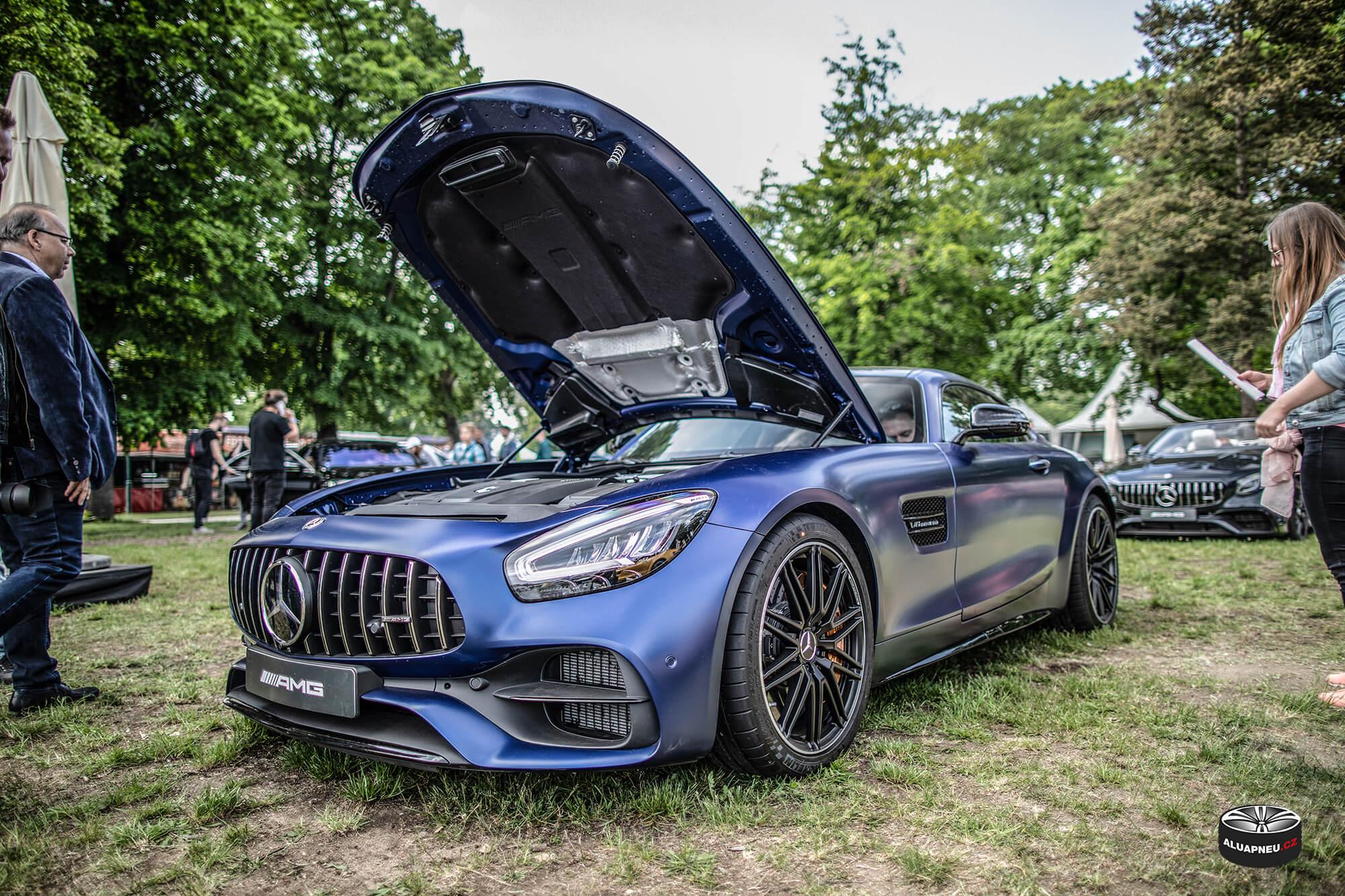 Mercedes Amg Gt S - originál Amg litá kola - Automobilové Legendy 2019 - www.aluapneu.cz