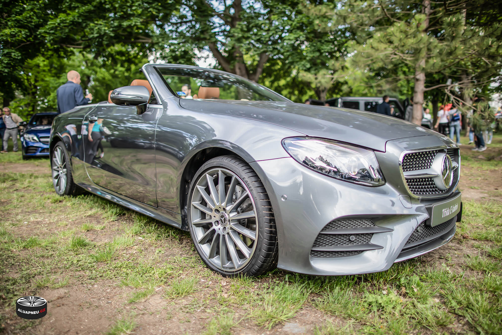 Originální leštěná alu kola Mercedes Benz - Automobilové Legendy 2019 - www.aluapneu.cz