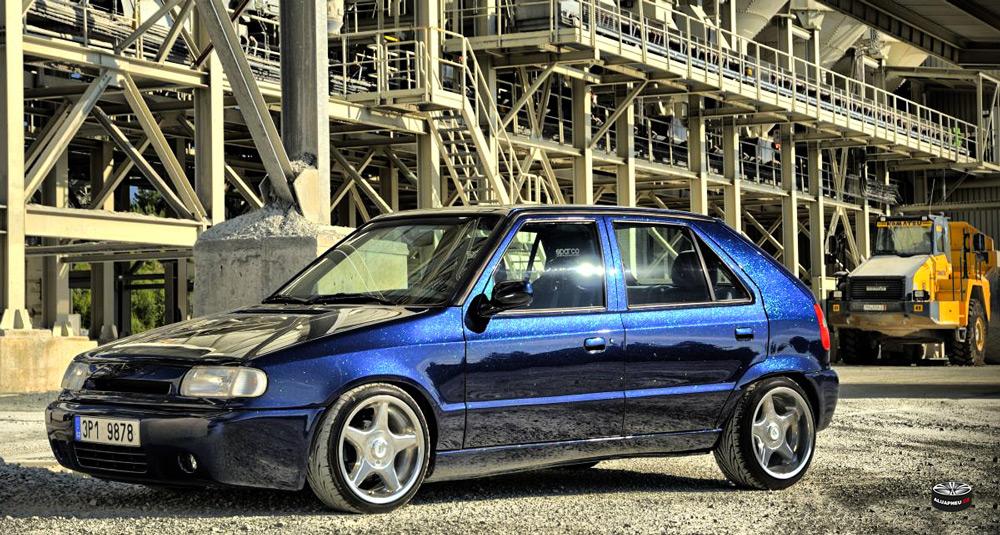 Alu kola Škoda Felicie