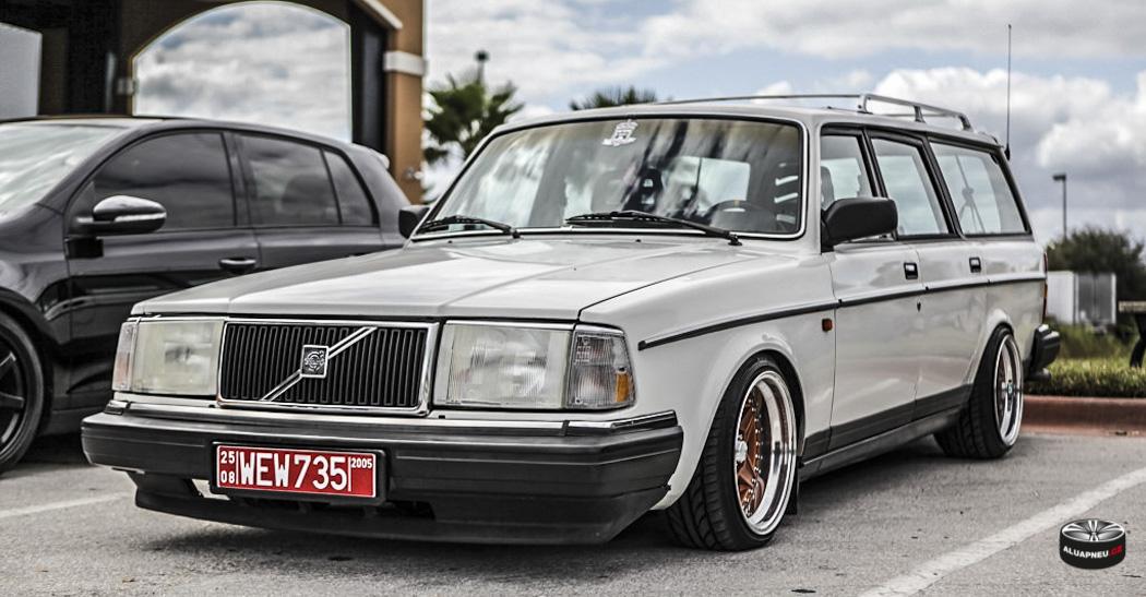 Alu kola Volvo