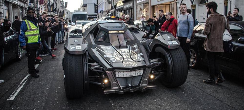 Batmobil Gumball
