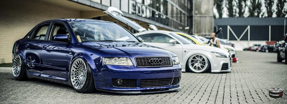 Modrá Alu kola Audi A4