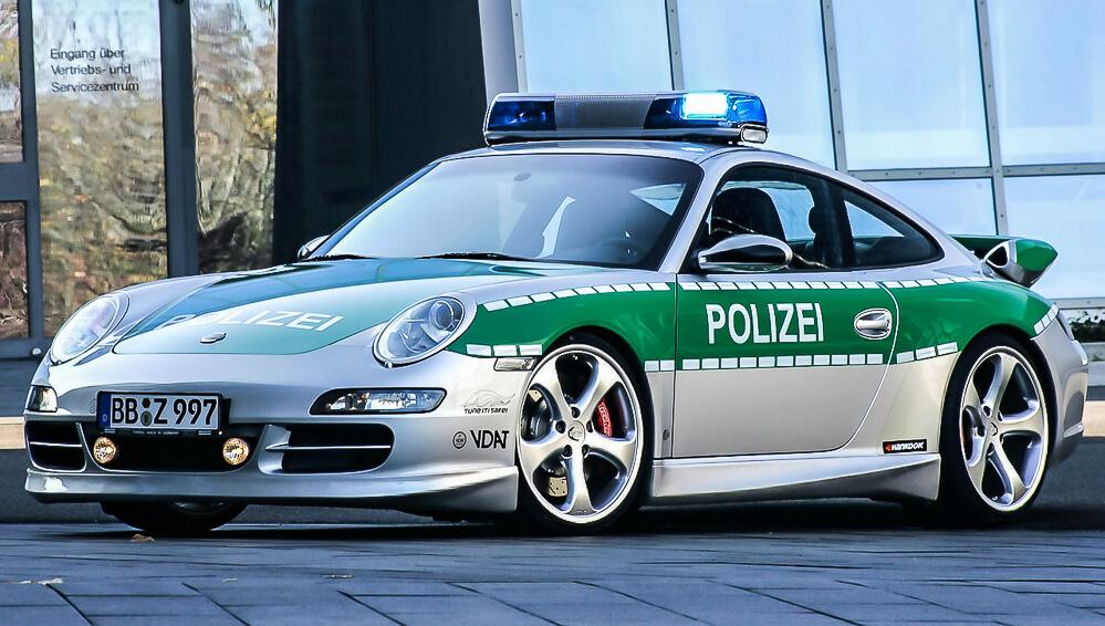 Policejní Porsche 911 Techart