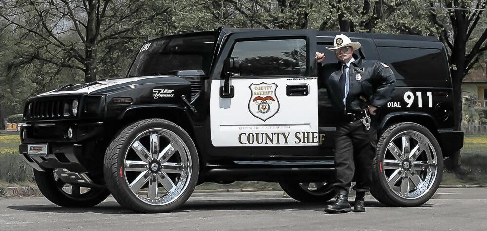 Police Hummer H2 Geiger Sport