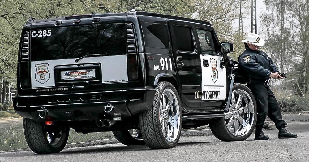 Hummer H2 Geiger Sport policie