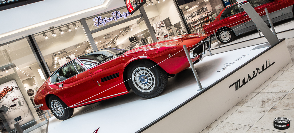 Hliníková kola Maserati