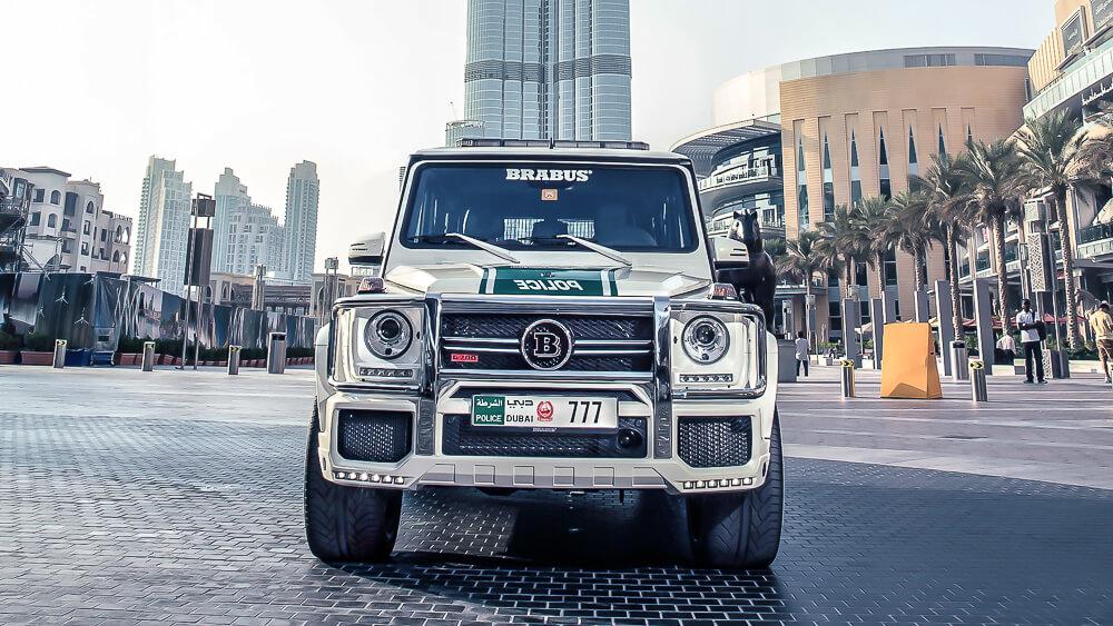 Mercedes Benz Dubai Police