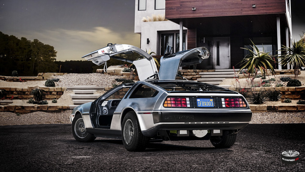 Alu kola DeLorean DMC