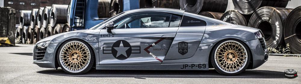 Alu kola Audi R8