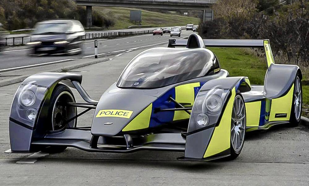 Rychlé policejní vozy