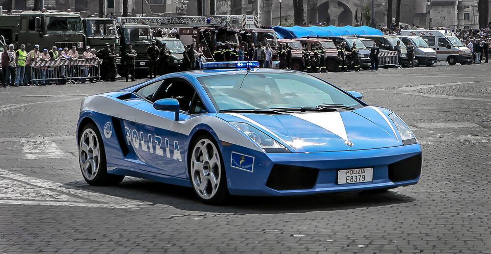 Italská policie Lamborghini Gallardo