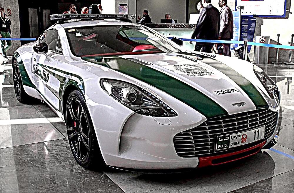 Aston Martin One Dubai Police