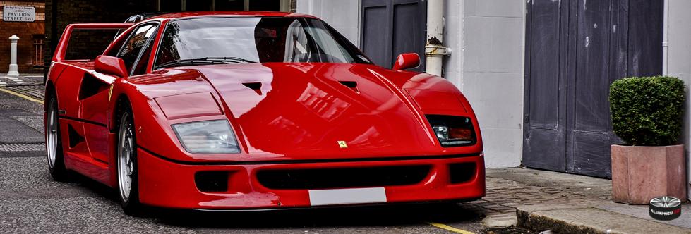 Alu kola Ferrari F40