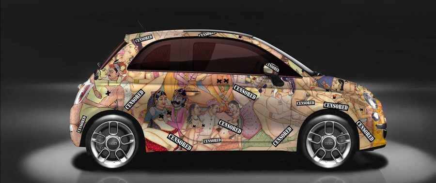 Alu kola Fiat 500
